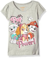 Nickelodeon Little Girls' Toddler Paw Patrol Pup Power Short Sleeve T-Shirt