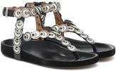Isabel Marant Eldo embellished leather sandals