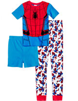 Spiderman 3-Pc. Cotton Pajama Set, Little Boys (2-7) & Big Boys (8-20)