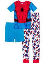 Spiderman 3-Pc. Cotton Pajama Set, Little Boys (4-7) & Big Boys (8-20)