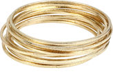 WORTHINGTON Worthington Gold-Tone Bangle Bracelet Set