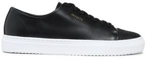 Axel Arigato Glittered And Smooth Leather Sneakers