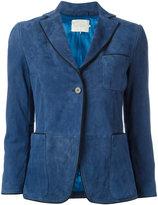 L'Autre Chose suede blazer - women - Calf Leather/Nylon - 38