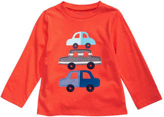 First Impressions Baby Boys Cotton Cars T-Shirt