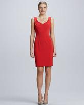 Elie Tahari Gretta Knit Sheath Dress