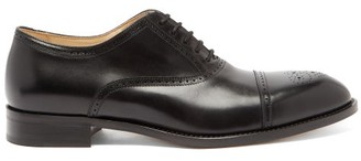 Paul Smith Sonnet Brogued-leather Oxford Shoes - Black