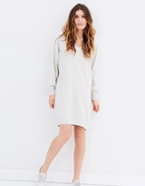 Maison Scotch Home Alone Oversized Sweat Dress