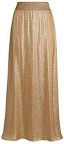 Thumbnail for your product : MARIE FRANCE VAN DAMME Metallic Maxi Skirt