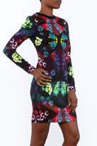 Nicole Miller Floral Shift Dress