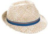 Paul Smith Boys' Straw Fedora Hat