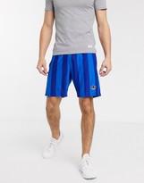adidas 3-Stripe shorts in blue