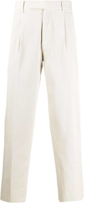 Ermenegildo Zegna Pleated Waist Trousers