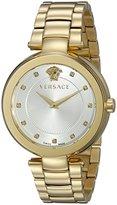 Versace Women's VQR060015 Mystique Analog Display Quartz Gold Watch