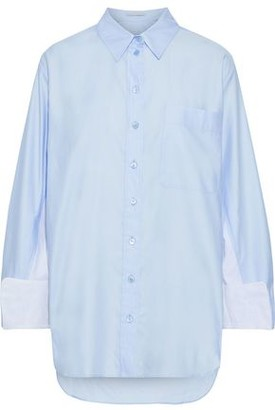 Stella McCartney Paneled Cotton-poplin Shirt