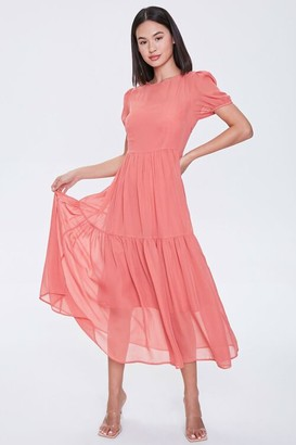 Forever 21 Tiered Midi Dress