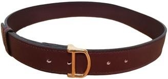 Cartier Burgundy Leather Belts
