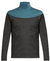 Kolor Bi-colour High-neck Sweatshirt