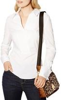 Karen Millen Crossover Front Shirt