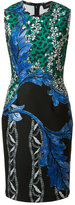 Yigal Azrouel floral print fitted dress - women - Polyester/Spandex/Elastane - 8