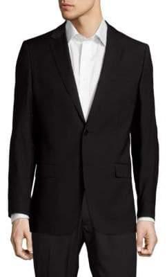 Versace Modern Fit Solid Wool Sportcoat