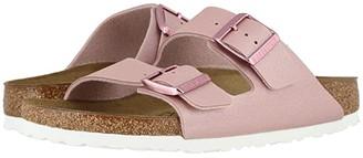 Birkenstock Arizona Icy Metallic Birko-Flortm (Icy Metallic Old Rose Birko-Flortm) Women's Sandals