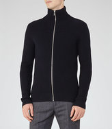 Reiss Howl Zip-Front Knit
