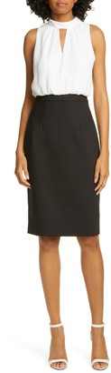 Ted Baker Naimeyd Mock 2-Piece Dress