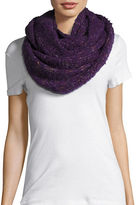 Echo Wool-Blend Boucle Infinity Scarf