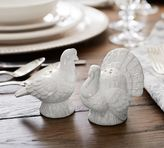 Pottery Barn Figural Turkey Salt & Pepper Shaker, Set of 2