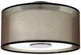 Rob-ert Saturnia 2 - Light 17.5'' Shaded Drum Flush Mount Robert Abbey