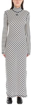 Loewe Diagonal Striped Maxi Dress