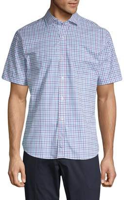Tailorbyrd Patterned Regular-Fit Button-Down Shirt