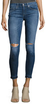Rag & Bone Mid-Rise Skinny Capri Jeans with Released Hem, Lily Dale