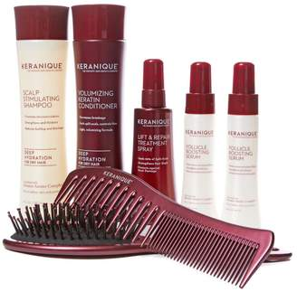 As Seen On Tv Keranique 60-Day Volumizing Kit with Detangling Comb Brush Auto-Ship