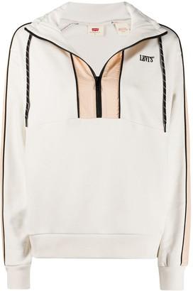 Levi's Colour Block Pullover Sweatshirt