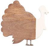 Mud Pie Harvest Wood & Enamel Turkey Cutting Board