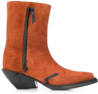 Acne Studios cowboy ankle boots