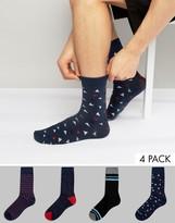 Jack and Jones Socks 4 Pack