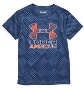 Under Armour Toddler Boy's Tilt Shift Graphic Heatgear T-Shirt