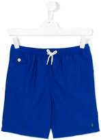 Polo Ralph Lauren drawstring swim shorts - kids - Polyester - 14 yrs
