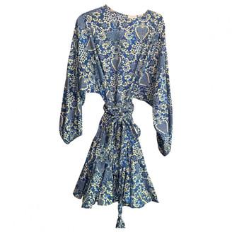 Rhode Resort Blue Cotton Dresses