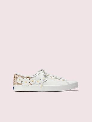 Kate Spade Keds X Kickstart Glitter Appliques Sneakers