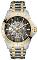 Bulova Men's Analog Quartz Two-Tone Bracelet Watch, 43mm