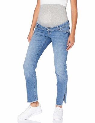 Mama Licious Mamalicious Women's MLCRYSTAL Straight Cropped Jeans