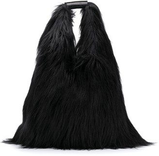 MM6 MAISON MARGIELA Borsa Faux-Fur Tote Bag