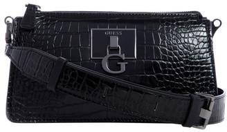 GUESS CM787570BLA Stephi Zip Top Crossbody Bag