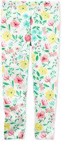 Carter's Floral-Print Leggings, Toddler Girls (2T-4T)