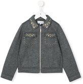 Simonetta stud-embellished jacket