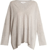 Amanda Wakeley The Hutton V-neck cashmere sweater