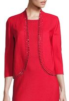 St. John Sequin-Embellished Rumba Knit Jacket